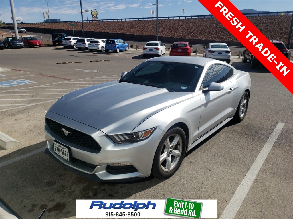 Pre owned 2015 ford mustang v6