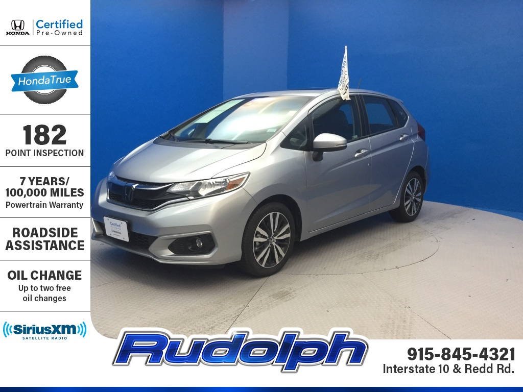 Certified Pre-Owned 2019 Honda Fit EX-L