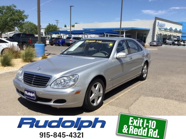 Pre Owned 2005 Mercedes Benz S500 5.0L